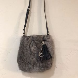 Michael Kors Rabbit Fur Crossbody Bag